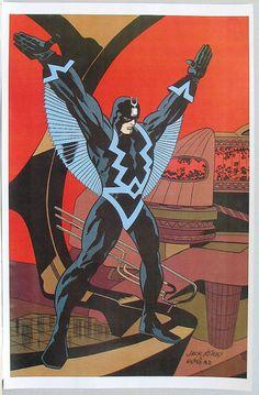 Black Bolt by Jack Kirby