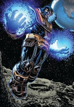 Thanos by Fredie Williams II - Universo Marvel