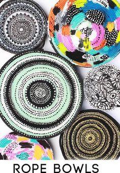 NEW! rope bowls