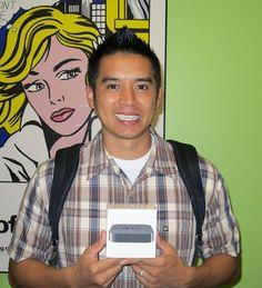 Joseph Hoang, winner of the Apple® TV opportunity drawing.