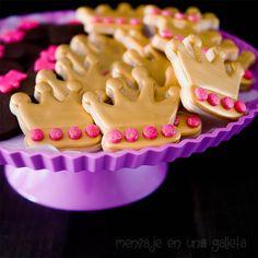 Galletas de chocolate, la receta definitiva y un dorado que brilla mucho y mancha nada. | Mensaje en una galleta
