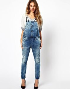 G-Star Dungaree Skinny Jean at ASOS. Denim Overalls, Dungarees, Denim Jeans, Skinny Jeans, Star G, Fashion Online, Latest Trends, Bright, Style Inspiration