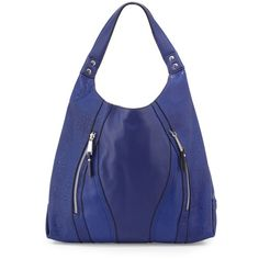 French Connection Ollie Faux-Leather Tote Bag ($54) ❤ liked on Polyvore featuring bags, handbags, tote bags, monarch bl, vegan purses, handbag tote, blue purse, vegan tote bags and faux leather tote bag