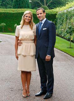 11. August 2009: Prinzessin Madeleine von Schweden und Jonas Bergstrom.