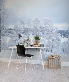 Hey,+look+at+this+wallpaper+from+Rebel+Walls,+Winter+Silence!+#rebelwalls+#wallpaper+#wallmurals