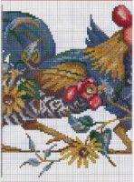 "Gallery.ru / irisha-ira - Альбом ""Петухи"" Hens, Rooster, Needlework, Cross Stitch, Bird, Embroidery, Crafts, Painting, Laying Hens"