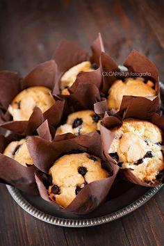 Nina's Kitchen: Muffins de arándanos