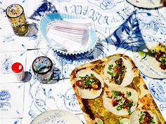 Food styling - Simon Bajada, Photography – John Laurie for an upcoming issue of Chefs Special.  Food Prep – The Taco Truck!