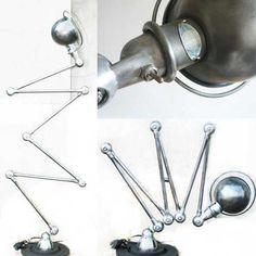 LAMPE JIELDE 6 BRAS - Jielde - Lampes