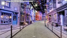 Visit Harry Potter's Diagon Alley with Google Street View
