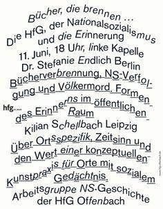 """saschalobe: """"Poster »Bücher, die brennen …«, 2014, SL """""""