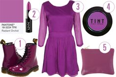 #radiantorchid  | Radiant Orchid Is Pantone's Color Of 2014! 5 Pieces To Wear Now