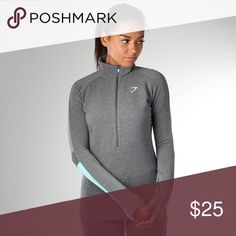 Gymshark Impulse Pullover Size XS too tight and I ended up getting a stain on the joggers so no use for the top! Gymshark Sweaters Cowl & Turtlenecks