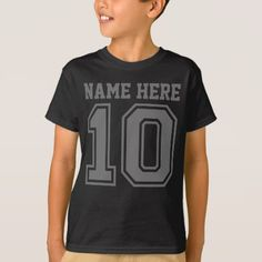10th Birthday (Customizable Kid's Name) T-Shirt - tap to personalize and get yours