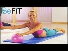 Pilates with Mini Ball Workout - YouTube