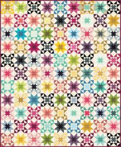 Rising Star Quilt Pattern by Vanessa Christenson
