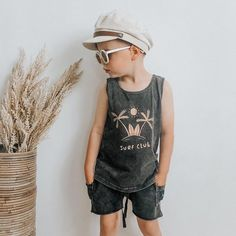 Little dude! Happy Friday everyone 🤍 . Obsessed with this outfit by @kapowkids from @jaxonrose_store {boys summer outfit, boys summer style, boys summer fashion}