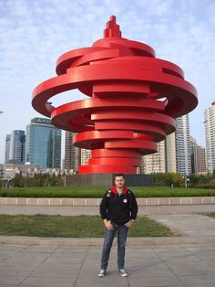Qingdao Wind statue