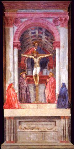 Trinità (Masaccio, S. Maria Novella, Firenze)