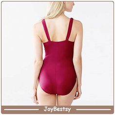 JoybestsypretoevermelhointeirosólidosWomensSwimsuits