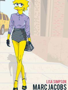 Fashion Week de New York : les personnages de dessins animés relookés