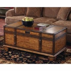 Chest Coffee Tables On Pinterest Steamer Trunk Painted Cedar Chest And Antique Dining Rooms