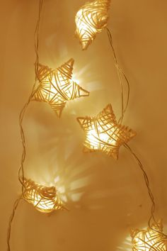 Pretty wicker stars