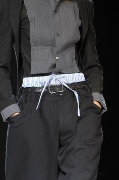 Yohji Yamamoto at Paris Fashion Week Spring 2012