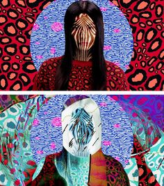 film stills from fashion film 'electric jungle' by mat maitland promoting kenzo's resort 2013 collection - pic 3