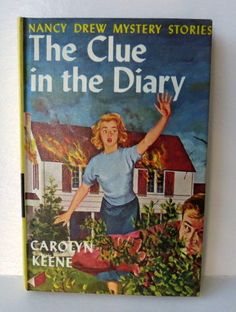 NANCY DREW Book 1962  The Clue In The Diary  Nancy by chrystelle