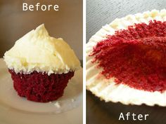 Nom Recipes, Red Velvet Cupcakes = Nom Nom.