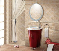 Classic Bathroom Inspiration Interior Wall Tile listed in:
