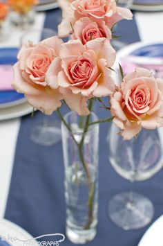 Flawless Fêtes: Tablescapes Shoot - Preppy Americana