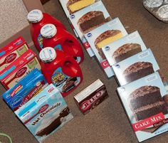 """""""Birthday in a bag"""" service project for food banks. Love this!....take action project....bronze award project"""