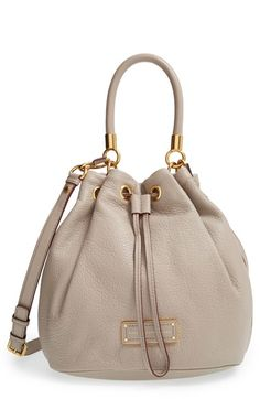 MARC BY MARC JACOBS 'Too Hot to Handle' Leather Drawstring Bag available at #Nordstrom