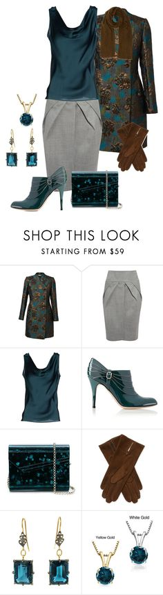 """""""Untitled #2979"""" by rkdk1101 ❤ liked on Polyvore featuring Giambattista Valli, Clips, Valentino, Jimmy Choo, Maison Fabre, Auriya, Rick Owens, women's clothing, women's fashion and women"""
