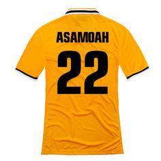 9489ba9b8 2013-2014 Juventus Nike Away Football Shirt 22 Asamoah http   www.