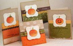 Pumpkins 4 Ways Card Set by Nichole Heady for Papertrey Ink