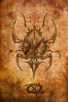 Zodiac: Cancer Art Print