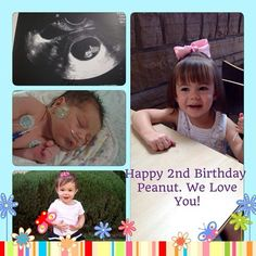 Can't believe it's been two short years since our daughter was born. Time flies, cherish every moment!