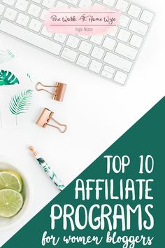 Here are some of my top affiliate marketing programs. Every blog is different, but there is an affiliate program out there for everyone.