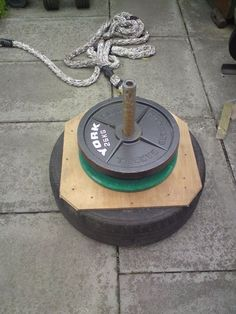 Cool idea for a sled. https://uk.pinterest.com/uksportoutdoors/home-gyms/pins/