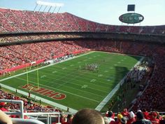 Why we love it: Come on - who doesn't enjoy a great Chief's game? Goo Chiefs! #chiefskingdom