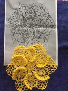 You are in the right place about crochet clothes Here we offer you the most beautiful pictures about Free Crochet Doily Patterns, Crochet Doily Diagram, Crochet Flower Tutorial, Crochet Circles, Crochet Art, Thread Crochet, Crochet Motif, Crochet Designs, Crochet Crafts