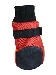 $24.99 Meshies by Barko Booties - Red - back view