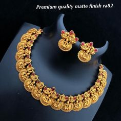 Temple Jewellery available at AnkhJewels for booking WhatsApp on Gold Jewellery Design, Gold Jewelry, Clay Jewelry, Jewelry Shop, Fashion Necklace, Fashion Jewelry, Gold Fashion, Indian Fashion, Trendy Fashion