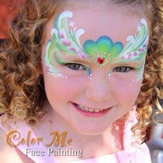 Princess Face Painting - Color Me Face Painting
