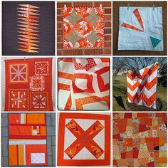 Quilting inspiration from http://www.asquaredw.com/2012/03/tangerine-tango-winners.html#comment-form via No Big Dill