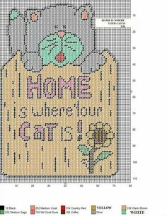 HOME IS WHERE YOUR CAT IS by LM