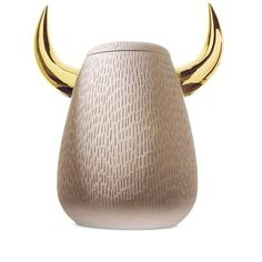 Ceramics. Bosa Animalita collection designed by: Sam Baron. Available at Showroom MOOD, Warsaw #ceramics #bull #bosa